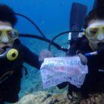 沖縄ダイビング☆5/27 青の洞窟体験ダイビング 10時〜 なすび
