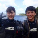 沖縄ダイビング☆ 5/26 青の洞窟体験ダイビング 13時半~ しおん・ローラ