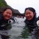 沖縄ダイビング☆5/27 青の洞窟体験ダイビング 15時〜 しおん・ローラ