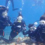 沖縄ダイビング☆ 5/25 青の洞窟体験ダイビング 13時~ なすび・しおん