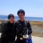沖縄ダイビング☆5/4 珊瑚礁体験ダイビング 13時~ しおん