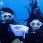 沖縄ダイビング☆ 6/3 青の洞窟体験ダイビング 8時~ なすび・ローラ