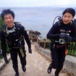 沖縄ダイビング☆6/28 青の洞窟体験ダイビング 10:30~しおん