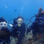 沖縄ダイビング☆6/21 極上2青の洞窟体験ダイビング 8:00~ なすび・やす