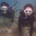 沖縄ダイビング☆6/16 珊瑚礁体験ダイビング うらビーチ 8:00~ しおん・ローラ