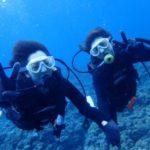 沖縄ダイビング☆6/18 青の洞窟体験ダイビング 8:00~ なすび・やす