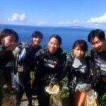 沖縄ダイビング☆7/25 青の洞窟体験ダイビング 15:00~ なすび・みーつ・ローラ