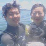 沖縄ダイビング☆7/25 珊瑚礁体験ダイビング 10:00~ しおん・やす