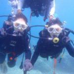 沖縄ダイビング☆7/31 青の洞窟体験ダイビング 12:30~ しおん・ローラ