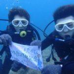 沖縄ダイビング☆7/19 珊瑚礁体験ダイビング10:30~ なすび・ローラ