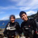 沖縄ダイビング☆7/30 青の洞窟体験ダイビング13:00~ なすび・ローラ