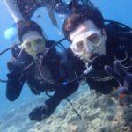 沖縄ダイビング☆7/25 青の洞窟体験ダイビング 13:00~ なすび・ローラ
