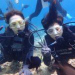 沖縄ダイビング☆7/25 青の洞窟体験ダイビング 9:00~ なすび・ローラ