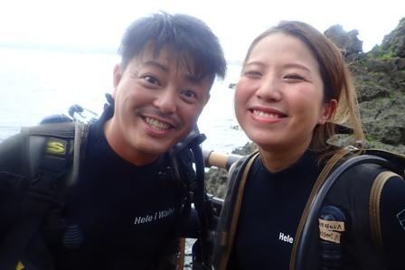 沖縄ダイビング☆7/22極上2体験ダイビング 8:00~ しおん・やす