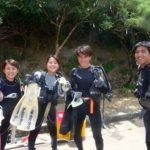 沖縄ダイビング☆8/24 青の洞窟体験ダイビング 10:30~みーつ・なすび・やす