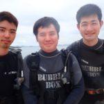 沖縄ダイビング☆8/12 珊瑚礁体験ダイビング 10時~ なすび・やす