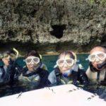 沖縄ダイビング☆8/20 青の洞窟スノーケル  8:00 なすび・やす
