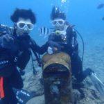 沖縄ダイビング☆8/7 珊瑚礁体験ダイビング 15時~ なすび・やす
