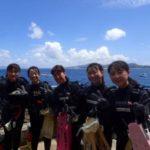 沖縄ダイビング☆8/27 青の洞窟体験ダイビング 10:30~ なすび・ローラ・りょう・吉川さん