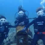 沖縄ダイビング☆8/8 珊瑚礁体験ダイビング 15時~ なすび・しおん・ローラ