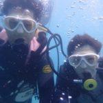 沖縄ダイビング☆8/12 珊瑚礁体験ダイビング 10時~ しおん・さっさー
