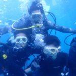 沖縄ダイビング☆8/28 青の洞窟体験ダイビング 15:00~ せいや・しおん