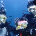 沖縄ダイビング☆8/28 青の洞窟体験ダイビング 15:00~ りょう