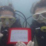 沖縄ダイビング☆ 8/15 珊瑚礁体験ダイビング 13:00~ なすび・ローラ