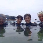 沖縄ダイビング☆8/16 珊瑚礁体験ダイビング 12:30~ しおん・ばっしー・みーつ