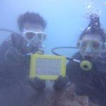 沖縄ダイビング☆8/13 珊瑚礁体験ダイビング 8:00~ みーつ
