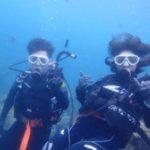沖縄ダイビング☆8/30 青の洞窟体験ダイビング 10時〜 しおん・やす