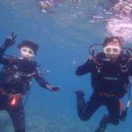 沖縄ダイビング☆8/4 珊瑚礁体験ダイビング 8:00~ しおん・みーつ・ローラ