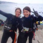 沖縄ダイビング☆8/13 珊瑚礁体験ダイビング 8:00~ しおん・ローラ
