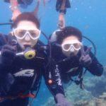 沖縄ダイビング☆8/30 青の洞窟体験ダイビング 13時〜 しおん・やす