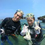 沖縄ダイビング☆ 8/15 珊瑚礁体験ダイビング 10:00~ みーつ