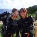 沖縄ダイビング☆8/27青の洞窟体験ダイビング 8:00~ なすび・ローラ・吉川さん