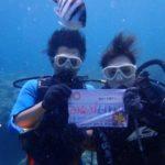 沖縄ダイビング☆8/28 青の洞窟体験ダイビング 10:00~ りょう