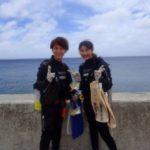 沖縄ダイビング☆8/7 珊瑚礁体験ダイビング 12時30分~ なすび・やす