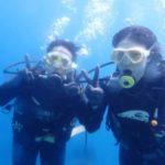沖縄ダイビング☆8/23青の洞窟体験ダイビング 10:30~ しおん・ローラ