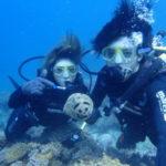 沖縄ダイビング☆8/6 珊瑚礁体験ダイビング 10:30~ なすび・ローラ