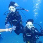 沖縄ダイビング☆8/31 青の洞窟体験ダイビング 15時〜 みーつ・ローラ