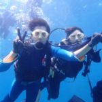 沖縄ダイビング☆8/31 青の洞窟体験ダイビング 10時〜 みーつ・ローラ
