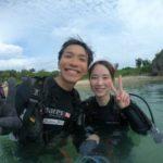 沖縄ダイビング☆8/16 珊瑚礁体験ダイビング 15:00~ みーつ