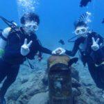 沖縄ダイビング☆8/7 珊瑚礁体験ダイビング 10時~ なすび・やす