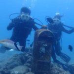 沖縄ダイビング☆8/7 珊瑚礁体験ダイビング 12時30分~ しおん・さっさー
