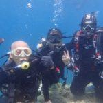 沖縄ダイビング☆8/28 極上2DIVE青の洞窟体験ダイビング 12:00~ なすび・フジイさん・ヨシカワさん