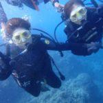 沖縄ダイビング☆9/9 青の洞窟体験ダイビング 13:00~ なすび・やす