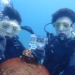 沖縄ダイビング☆9/18珊瑚礁体験ダイビング 15:30~ しおん・ローラ