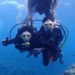 沖縄ダイビング☆9/2 青の洞窟体験ダイビング 13:00~ しおん・ローラ