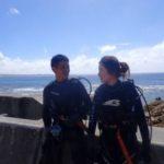 沖縄ダイビング☆ 9/30 珊瑚礁体験ダイビング 13:00~ なすび・ローラ